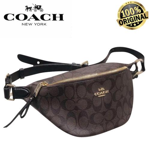 Foto Produk COACH SIGNATURE Belt Waist CANVAS F48740 BNIB 100% AUTHENTIC! dari Fashion&LifeStyle
