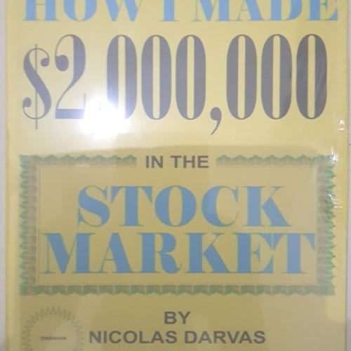 Foto Produk How I Made $2,000,000 In The Stock Market - Nicolas Darvas dari BukuSahamku