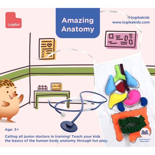 Foto Produk Mainan Edukasi Anak - Amazing Anatomy dari LogikaKids