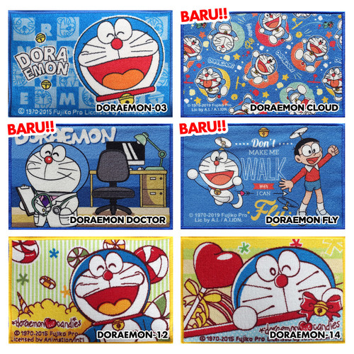 Foto Produk Keset Karakter Doraemon-03 Original 40x60cm - Doraemon 03 dari JAMAS Carpet