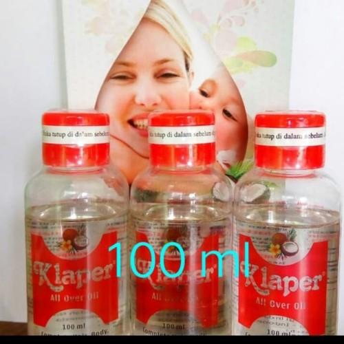 Foto Produk Klaper All Over Oil 100 ml / mencegah decubitus /vco bayi /vco lansia dari Toko Wiyono