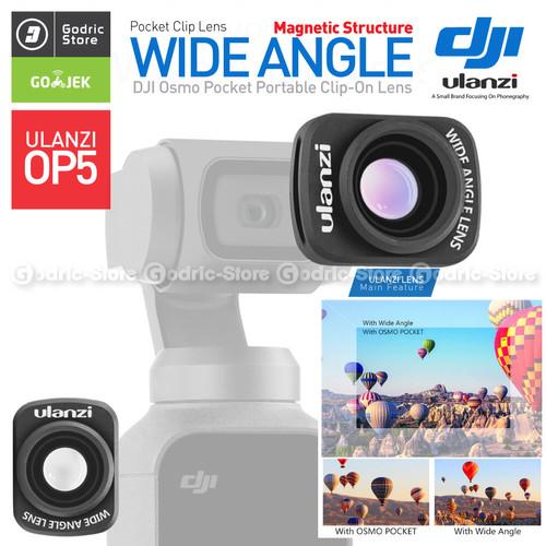 Foto Produk ULANZI OP-5 Premium Wide Angle Lens Vlog Converter for DJI OSMO POCKET dari G-Rex