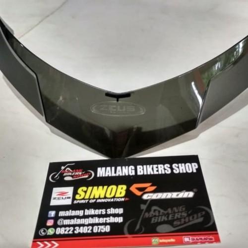 Foto Produk Spoiler Helm Zeus Z811 Original Spoiler Z811 Smoke dari MALANG BIKERS SHOP