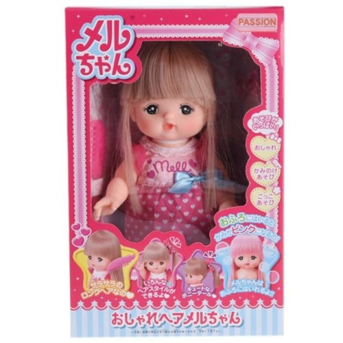 Foto Produk Boneka Mell Chan Long Hair Color Change Ori Mellchan Doll dari Mishana Shop