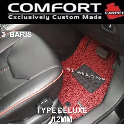 Foto Produk Karpet Mobil Comfort Deluxe Khusus Livina 2019 3 baris dari Boss Aksesoris Mobil