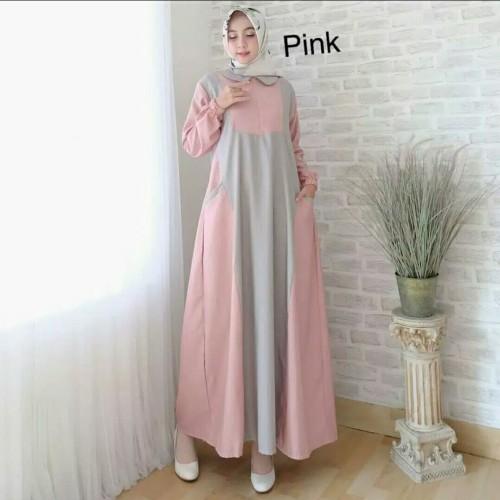 Foto Produk Pakaian Baju Busana Muslim Wanita Maxi JESSY Gamis Termurah Terbaru dari Zy's Distro