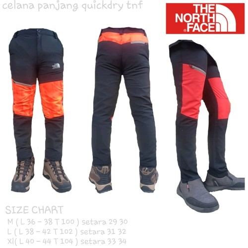 Foto Produk celana panjang gunung quickdry tnf streech bahan lentur not rei eiger dari Zusanti Viona Nender
