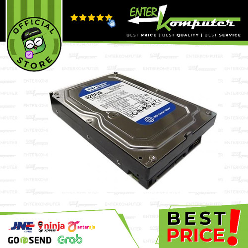 Foto Produk WDC 320GB SATA2 8MB - Used & Garansi 1 Th dari Enter Komputer Official