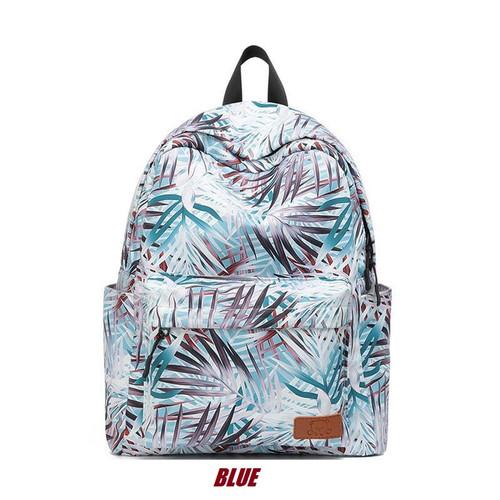 Foto Produk Charming Water Resistant Premium Backpack / Tas Punggung Motif JC-88 - Blue dari J&J Collection Store