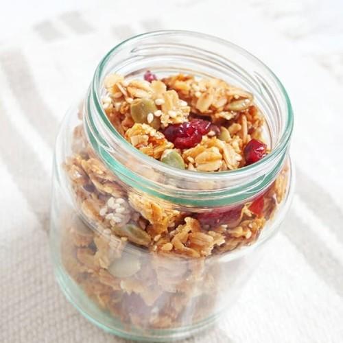 Foto Produk Cemilan Sehat. Granola Honey 100 gram dari Azzahra Shope