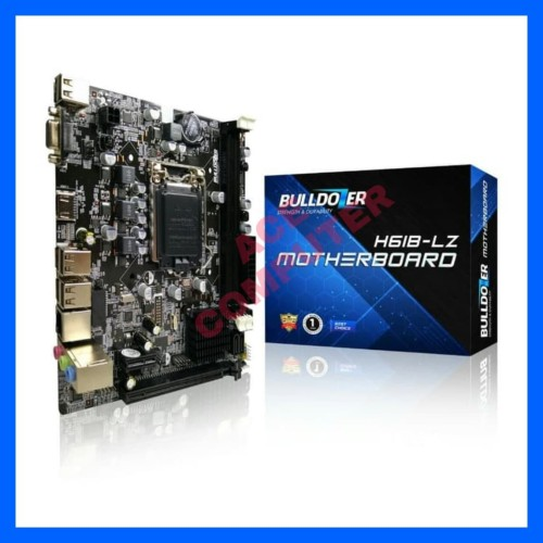 Foto Produk MOTHERBOARD BULLDOZER H61B-LZ SOCKET 1155 DDR3 dari ACE COMPUTER 22