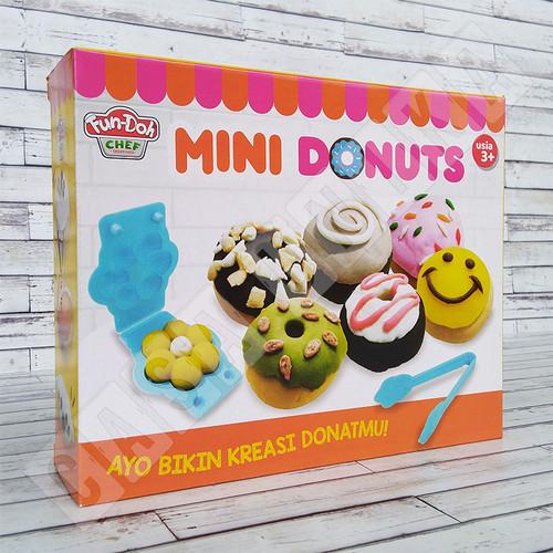 Foto Produk Fun Doh Mini Donut Donat Lilin Mainan Anak FunDoh / PlayDoh / Play Doh dari Casa Unika