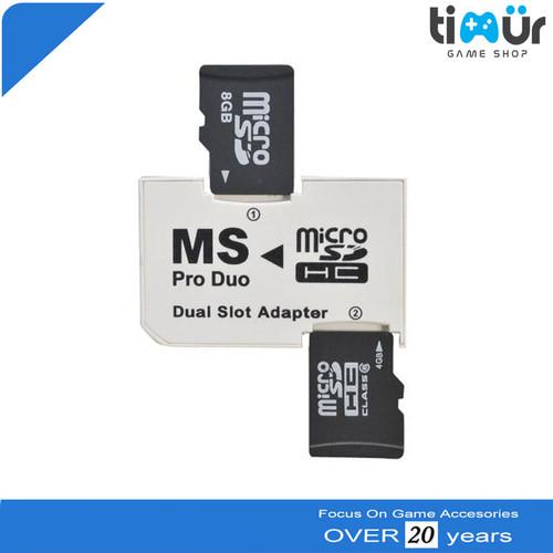 Foto Produk Photofast Dual Slot Converter Micro SD to Memory Stick Pro Duo Adapter dari Timur Game Shop