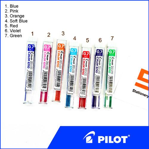 Foto Produk Isi Pensil Mekanik Warna Pilot Color Eno 0.7mm - Pink dari Stationery F.O.