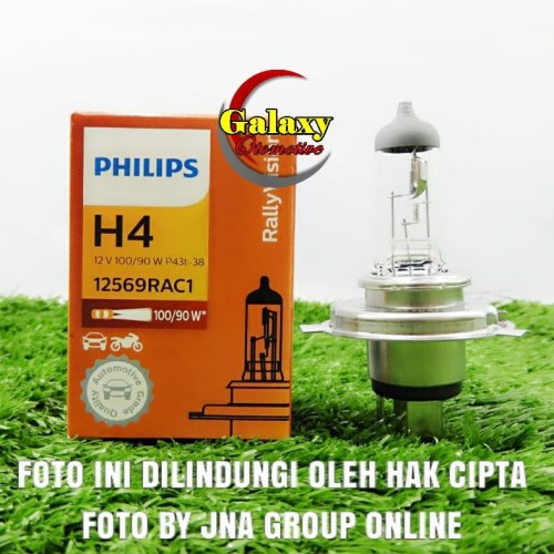 Foto Produk Bohlam Philips H4 12V 100/90W dari Galaxy Otomotive