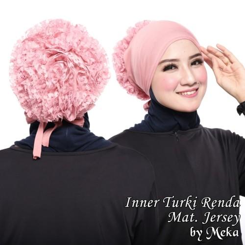 Foto Produk ciput inner turki - Hitam dari Meka hijab