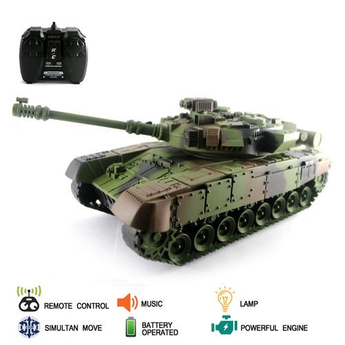 Foto Produk Mainan Remote Kontrol RC Tank Army Series dari Mafemale