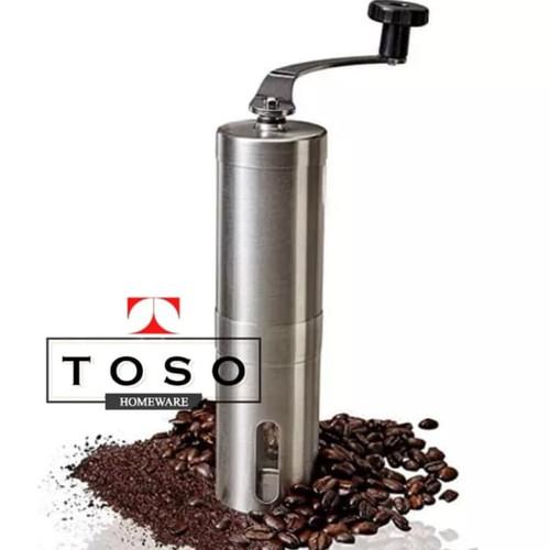 Foto Produk Travel Handy Coffee Grinder Gilingan Kopi Manual Ceramic Burr dari Toso Official