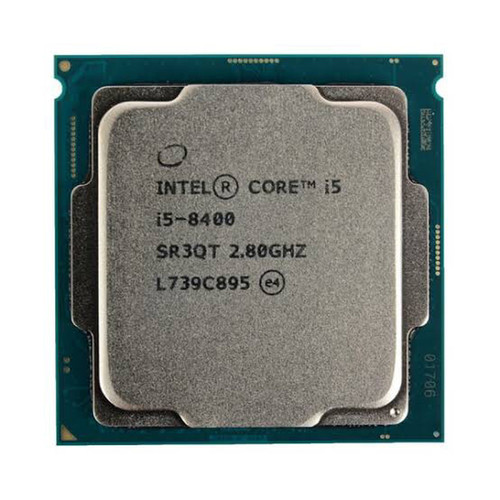 Foto Produk PROCESSOR INTEL CORE I5 8400 TRAY + FAN INTEL SOCKET 1151 dari t_pedia pc
