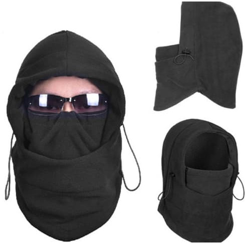 Foto Produk Masker scarf balaclava multifungsi ninja kupluk polar 6 in 1 Full Face dari Kitaro MotorShop