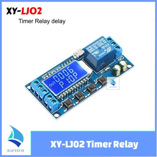 Foto Produk XY-LJ02 Timer Relay Delay Switch Module Input/Output Switch Time-delay dari RAFTECH