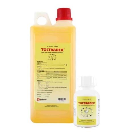 Foto Produk TOLTRADEX 100 ML (OBAT KOKSIDIOSIS) dari Sinar Harapan Jy
