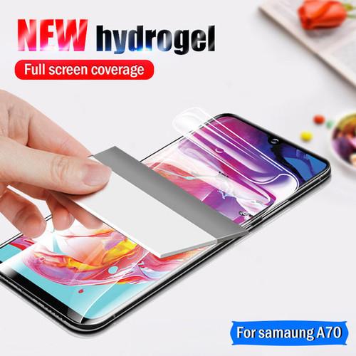 Foto Produk Samsung A10 A20 A30 A50 A70 A80 Hydrogel Screen Protector Anti Gores dari factory acc