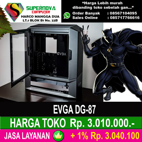 Foto Produk EVGA DG-87 dari Supernova Computer Ariet