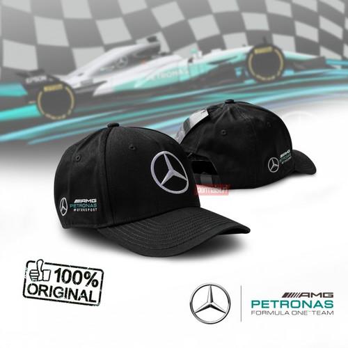 Foto Produk Mercedes Benz AMG Petronas Cap Black│Topi AMG Original dari PERMAISURI