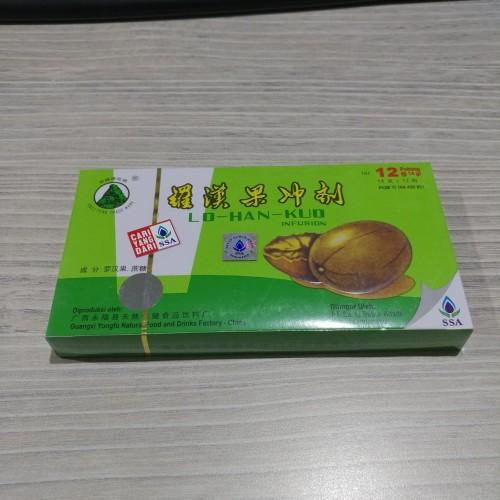 Foto Produk LO HAN KUO Infusion SSA (Pereda Panas Dalam) dari alkes jaya medika