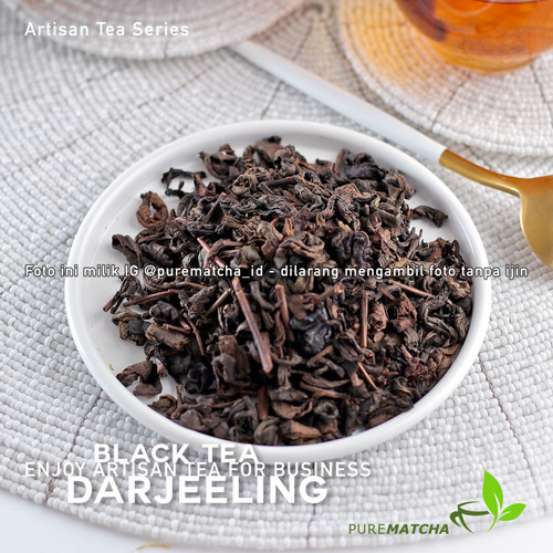 Foto Produk Artisan Tea Cafe - Darjeeling Tea 50gr Black Tea Teh Hitam Darjeling dari Pure Matcha