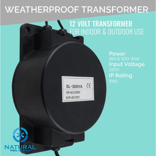 Foto Produk Transformer/Ballast waterproof 160W 12 Volt dari Multi Daya