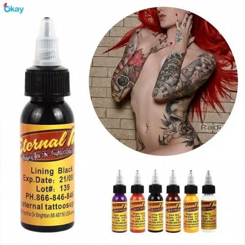 Foto Produk tinta tato Tattoo Pigmen Ink Fashion 7 Color dr pen mym dermapen sulam dari VIDYA BEAUTY SHOP
