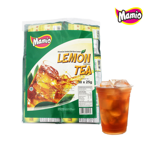 Foto Produk Lemon Tea Sachet isi 30 (1 Pak) dari CV. Herbal House Lestari
