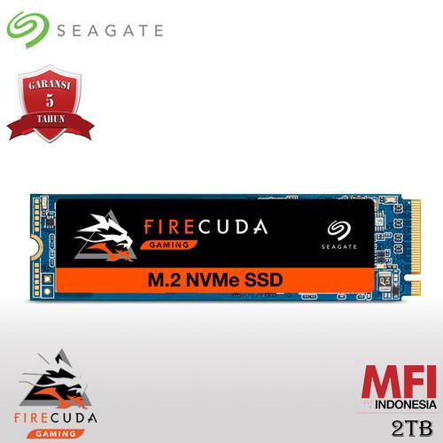 Foto Produk Seagate FireCuda 510 SSD 2TB M.2 2280 NVMe dari Seagate Official Store