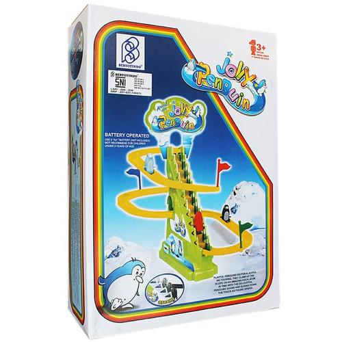 Foto Produk JOLLY TRACK PENGUIN Mainan Anak Track Racing Pinguin dari Lumi Toys
