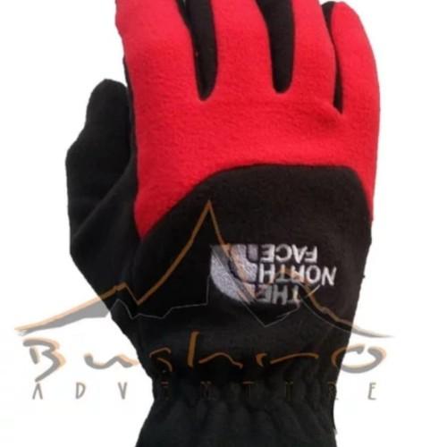 Foto Produk Sarung tangan gunung polar fleece gloves thumbal sarungtangaan glov ja dari sarahkushop