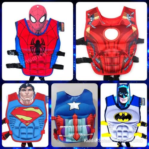 Foto Produk Pelampung Vest suit puddle jumper/pelampung anak motif super hero ori dari Besar sport