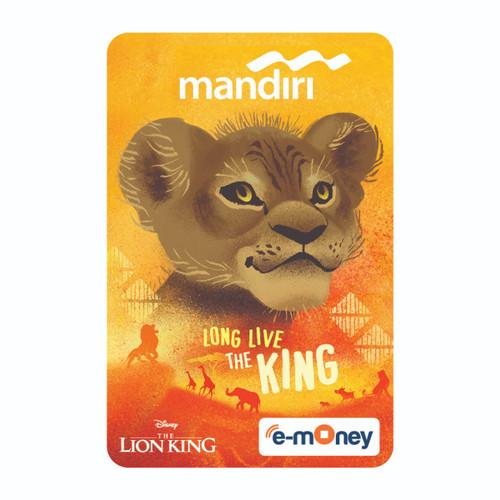 Foto Produk MANDIRI E-MONEY SPECIAL EDITION THE LION KING - LITTLE SIMBA dari Mandiri E-Store