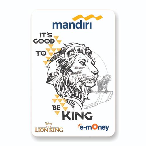 Foto Produk MANDIRI E-MONEY SPECIAL EDITION THE LION KING-SIMBA BLACK & WHITE dari Mandiri E-Store