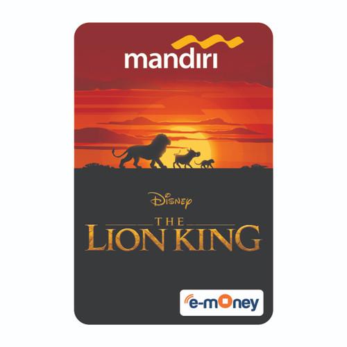 Foto Produk MANDIRI E-MONEY SPECIAL EDITION DISNEY'S THE LION KING dari Mandiri E-Store