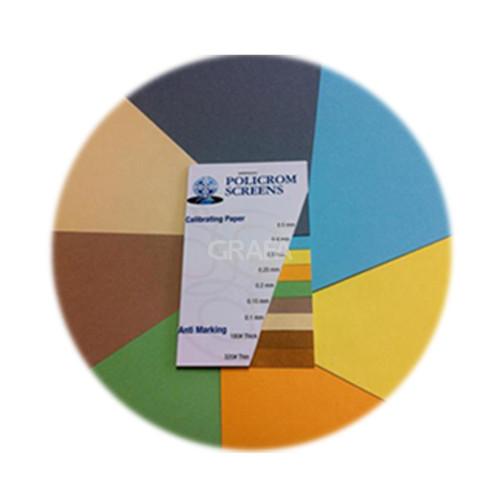 Foto Produk Calibrated Underlay Paper (760x595x0,20mm,Hijau) - mesin cetak offset dari Grafa Online