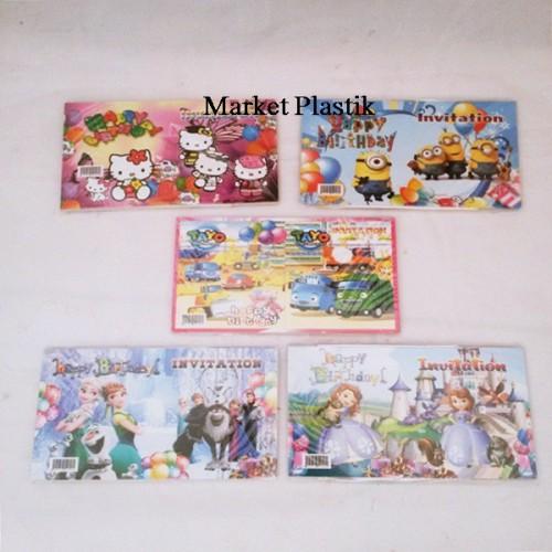 Foto Produk Jual Kartu Undangan Ulang Tahun/Kartu Undangan Ultah Anak/Kartu Ultah dari Amay Shope