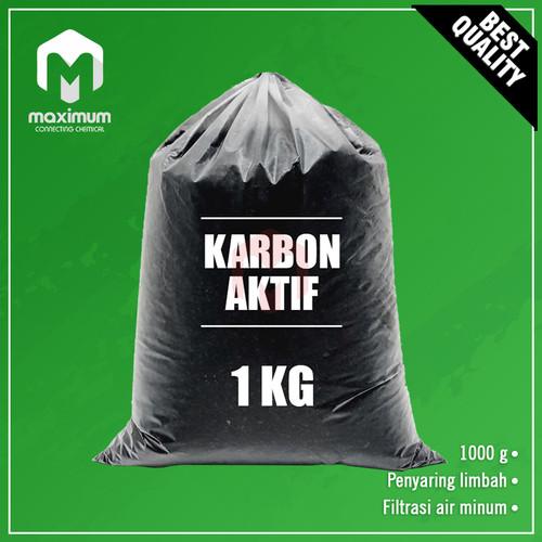 Foto Produk Karbon Aktif Bubuk / Active Carbon / Activated Charcoal Powder dari Maximum Chemical