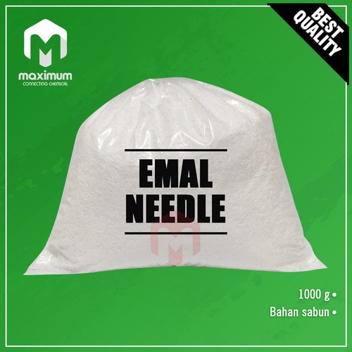 Foto Produk Emal Needle / Emal 10N / Sodium Lauryl Sulfate 1kg dari Maximum Chemical