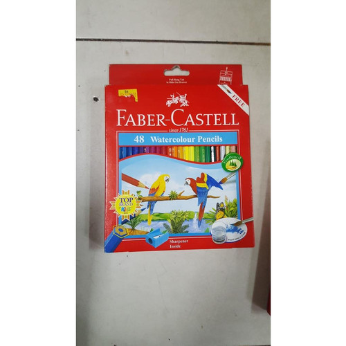 Foto Produk Pensil Warna Faber Castell 48 Warna ( Water Color ) dari Sumber Ragunan