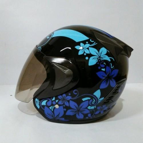 Foto Produk Helm Cewek Keren THI Flower SNI DAN ORI dari Variasi Motor Speed