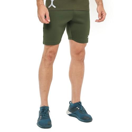 Foto Produk FLEX Celana Pendek - Green - for Gym Running Jogging Sport FCS-001AR - S dari FLEXZONE