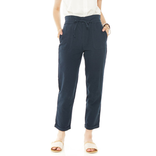 Foto Produk Anvaya Pants in Navy - Beatrice Clothing dari Beatrice Clothing