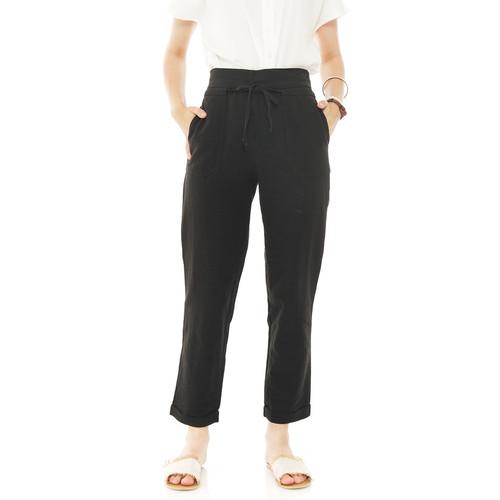 Foto Produk Anvaya Pants in Black - Beatrice Clothing dari Beatrice Clothing